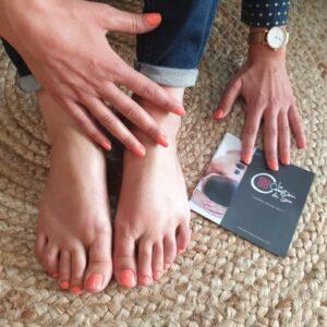 Vernis semi-permanent mains ou pieds avec dépose